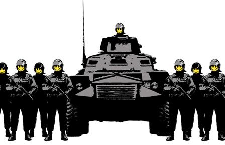Illustrazione di Banksy