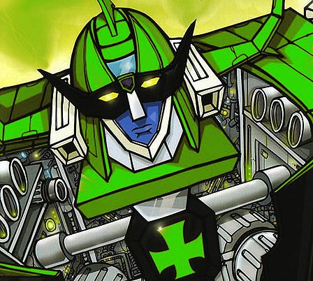 Padanious il robot verde la privata repubblica